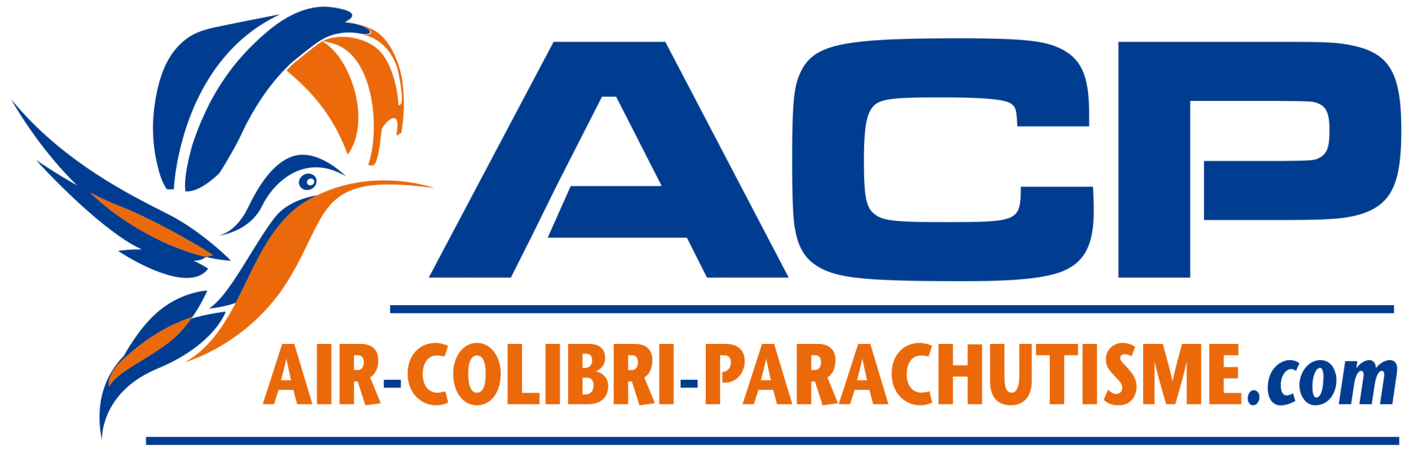 Logo air colibri parachutisme