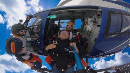 Saut d'hélicoptère en Guyane